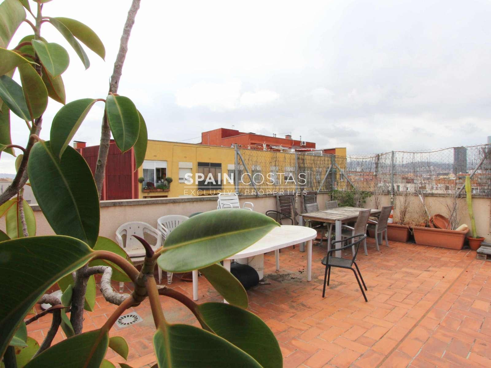 Tico con terraza en poblenou - Atico terraza barcelona ...