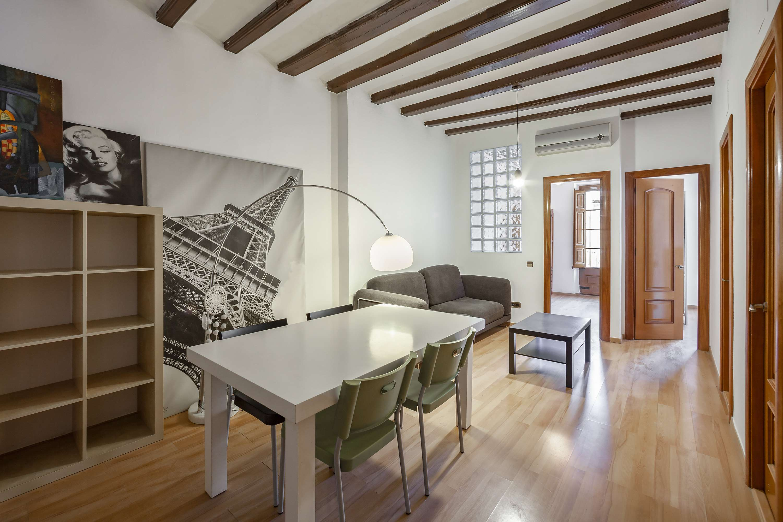 Уютная квартира Nou de la Rambla