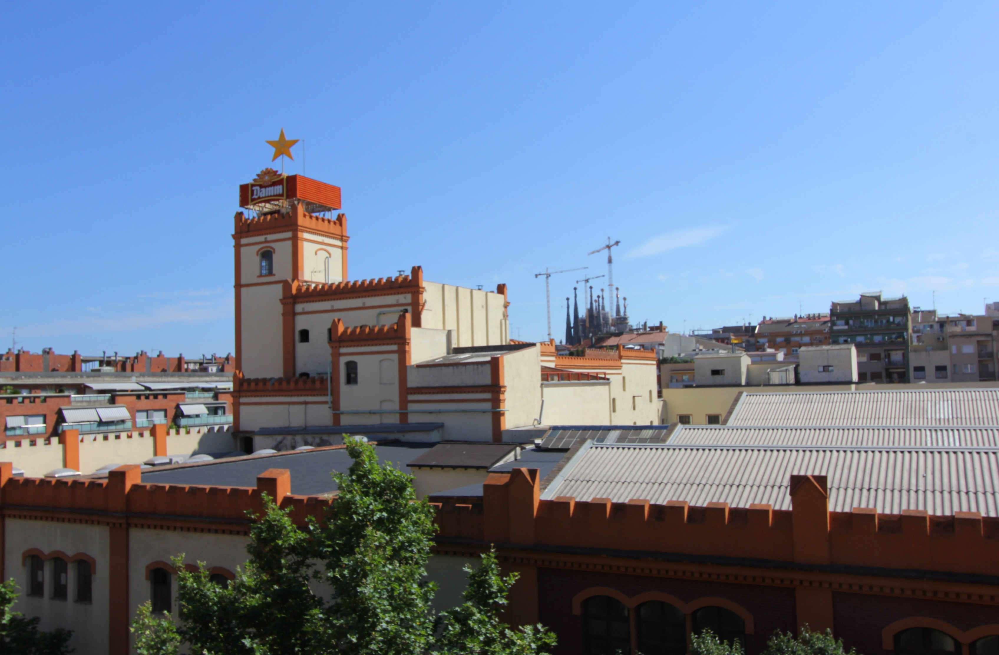 Piso reformado con vista a Sagrada Familia