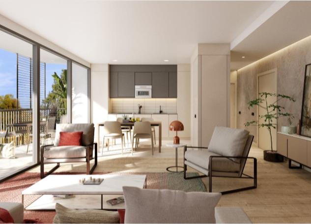Duplex obra nueva en Sant Gervasi