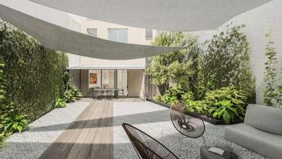 Obra nueva - bajo con jardin en centro de casco antiguo