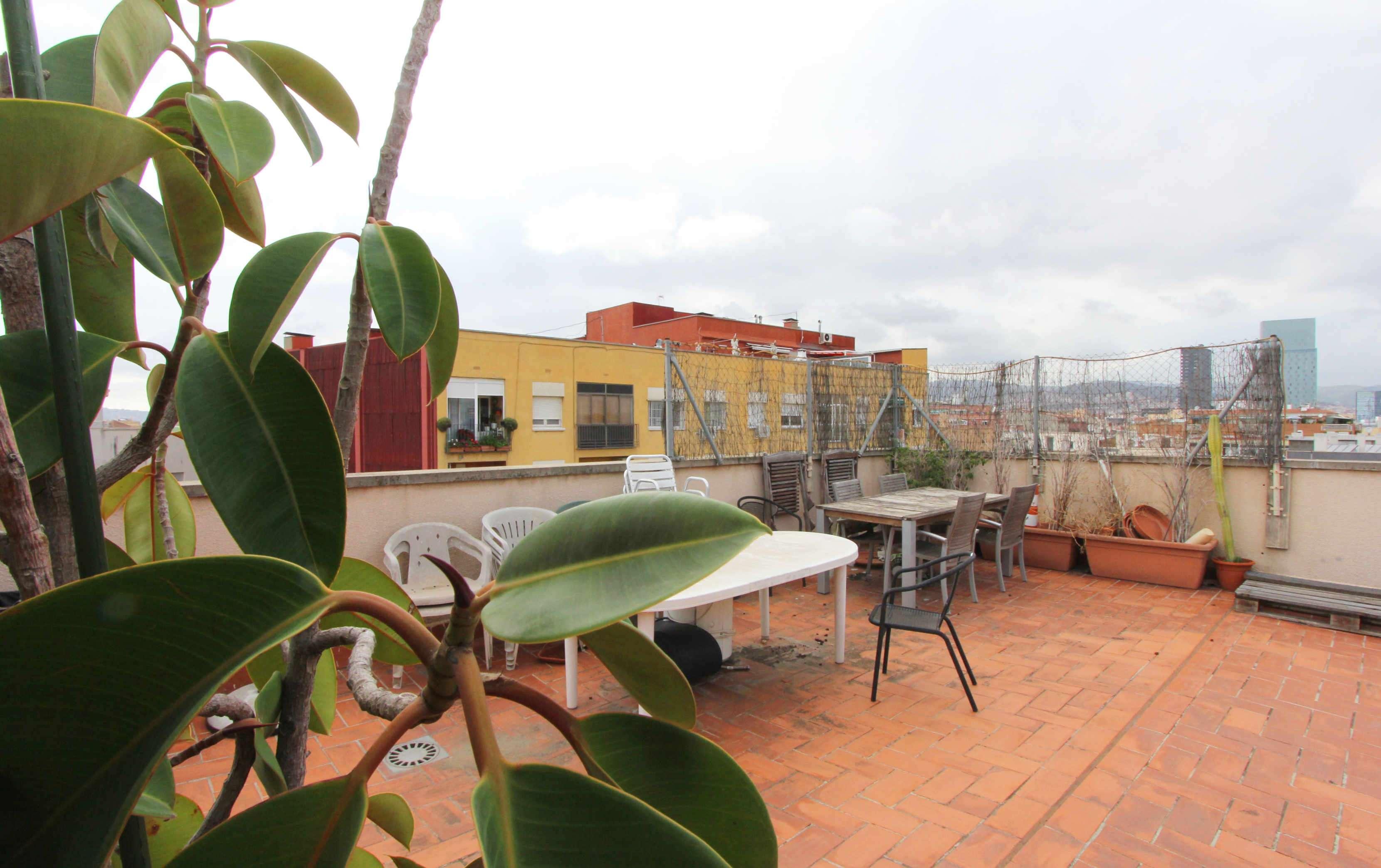 Ático con terraza en Poblenou