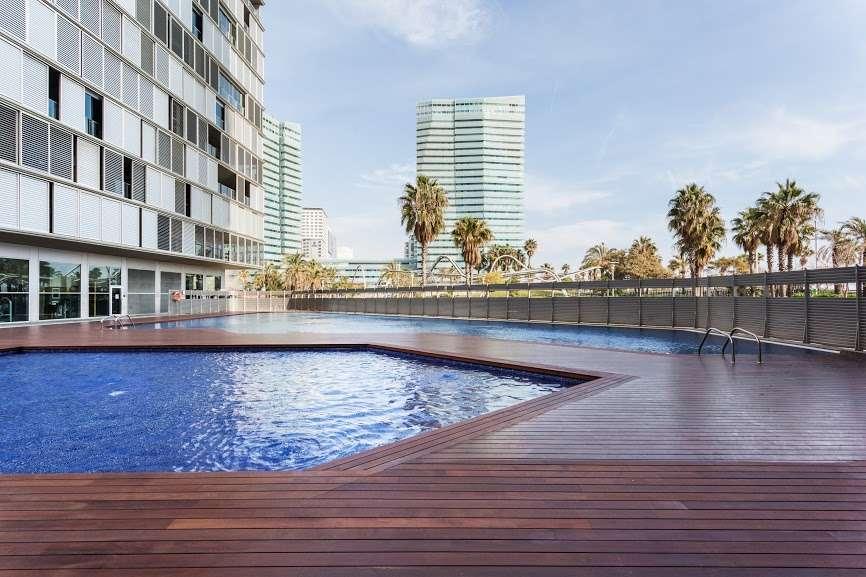 Apartamento Soleado frente la Playa en Barcelona