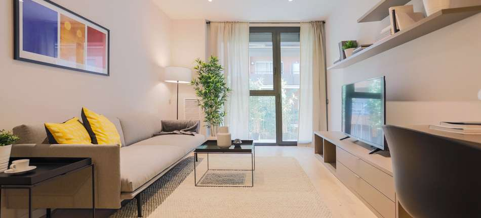 Apartamento de Obra Nueva cerca de la Plaza de España, Barcelona
