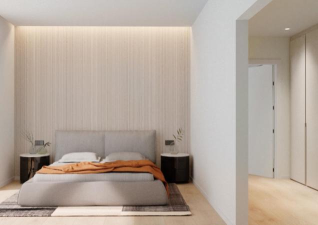 Piso con terraza y solarium, obra nueva en Sant Gervasi