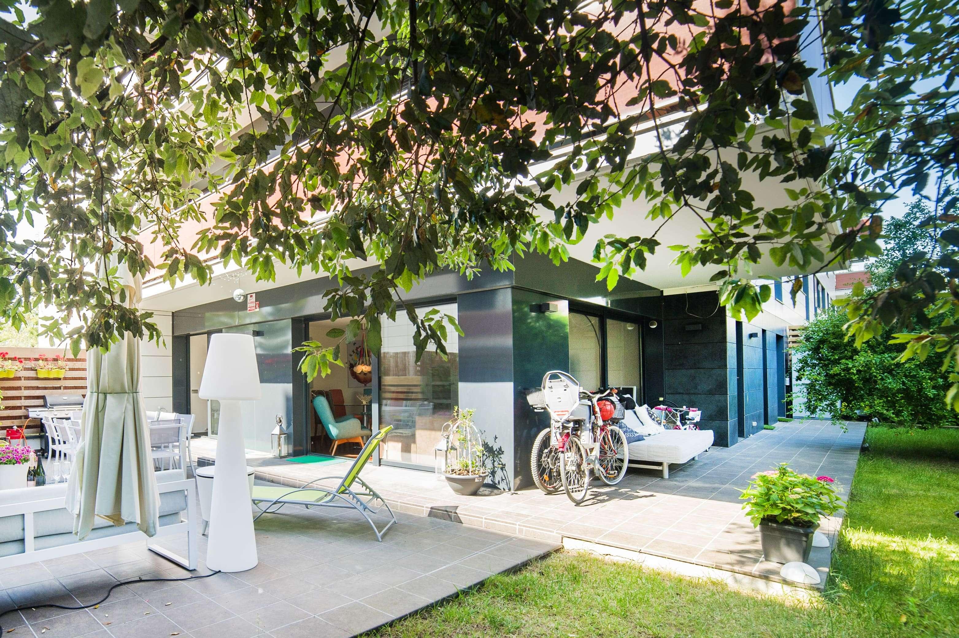 Precioso apartamento con su jardín privado en Sitges