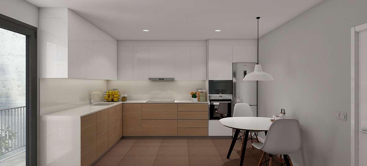 Apartamento de 2 habitaciones en Poblenou