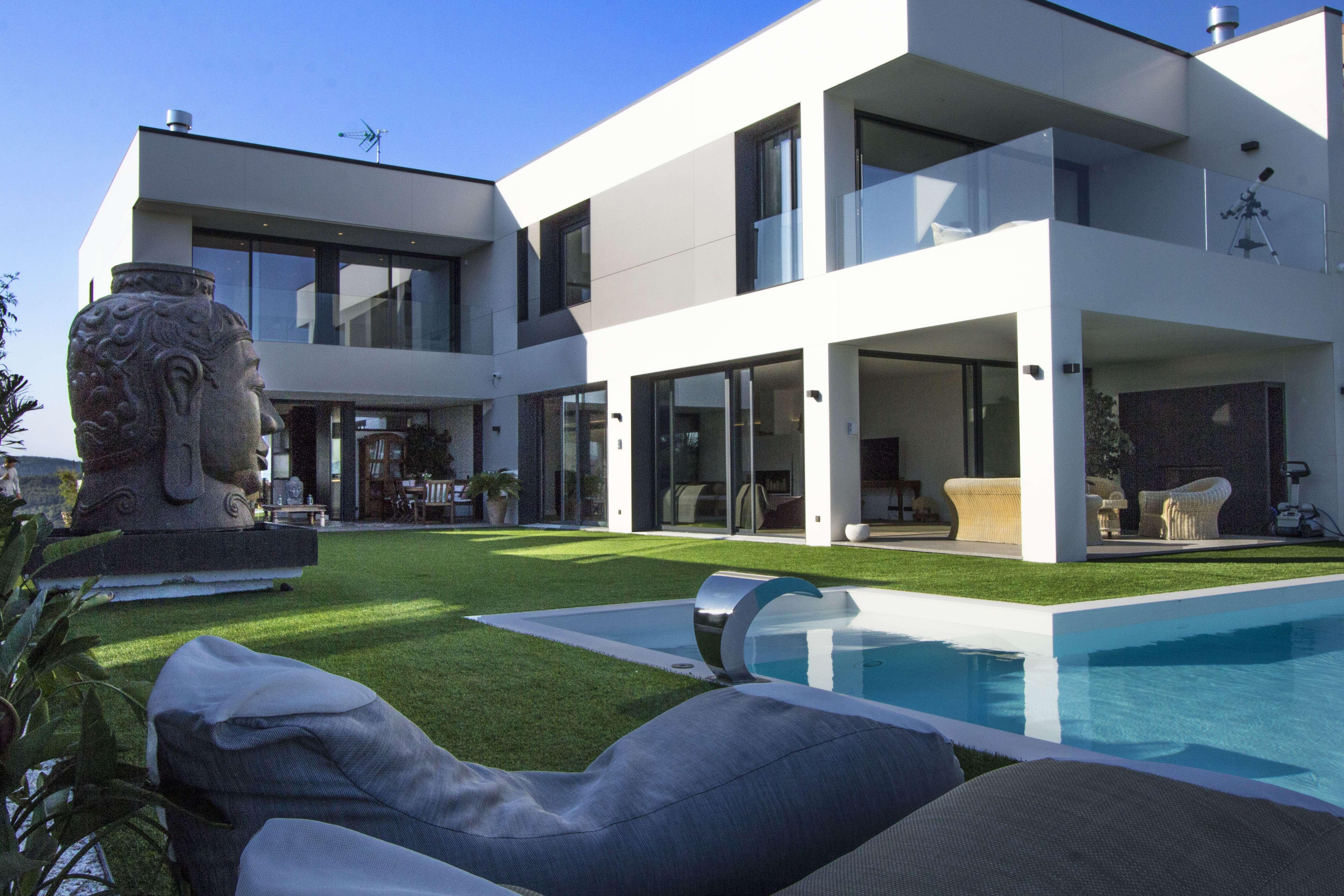 Vila de lujo con piscina en Sitges