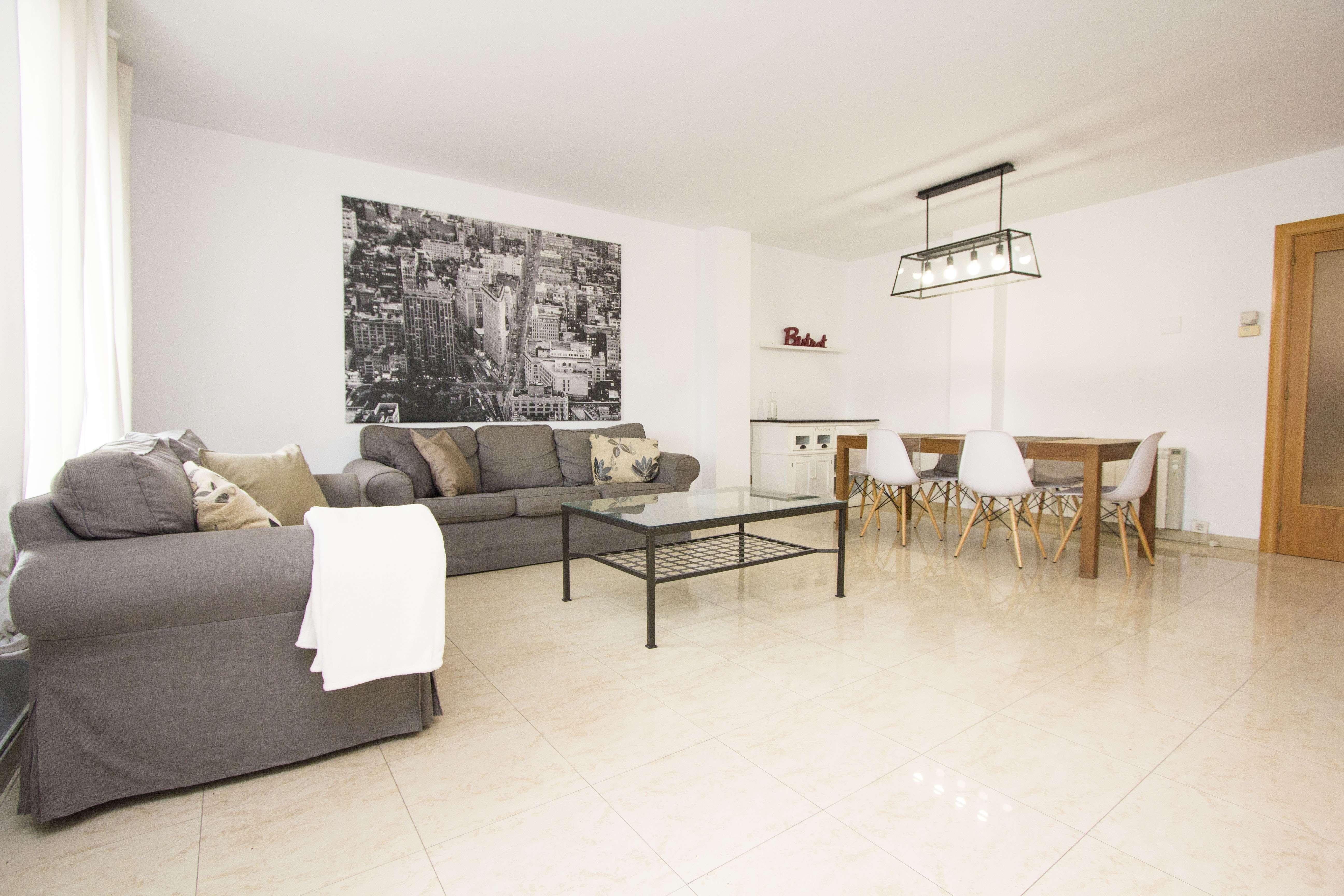 Apartamento Espacioso en El Eixample, Barcelona
