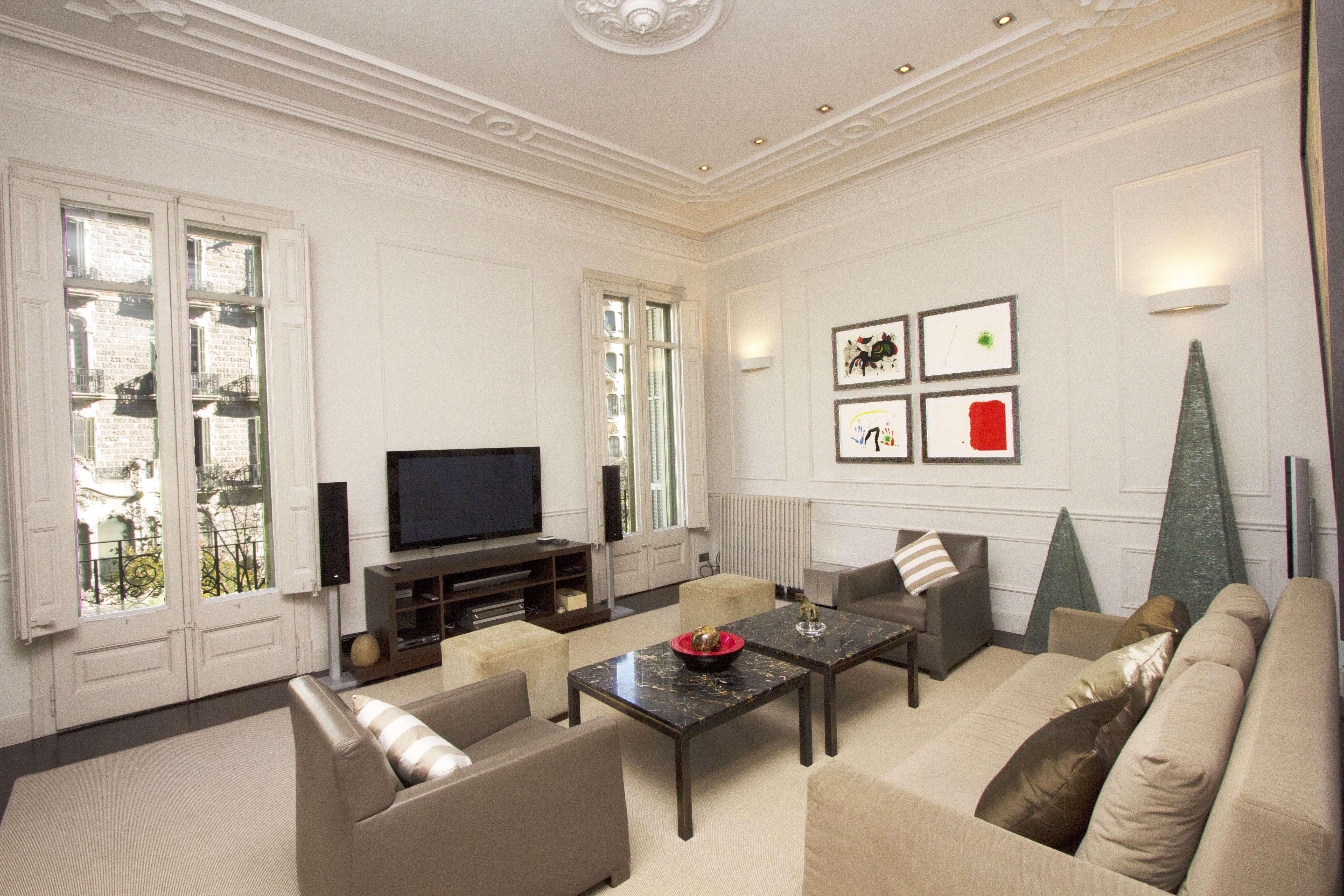 Apartamento de Lujo en la Rambla de Cataluña, Barcelona