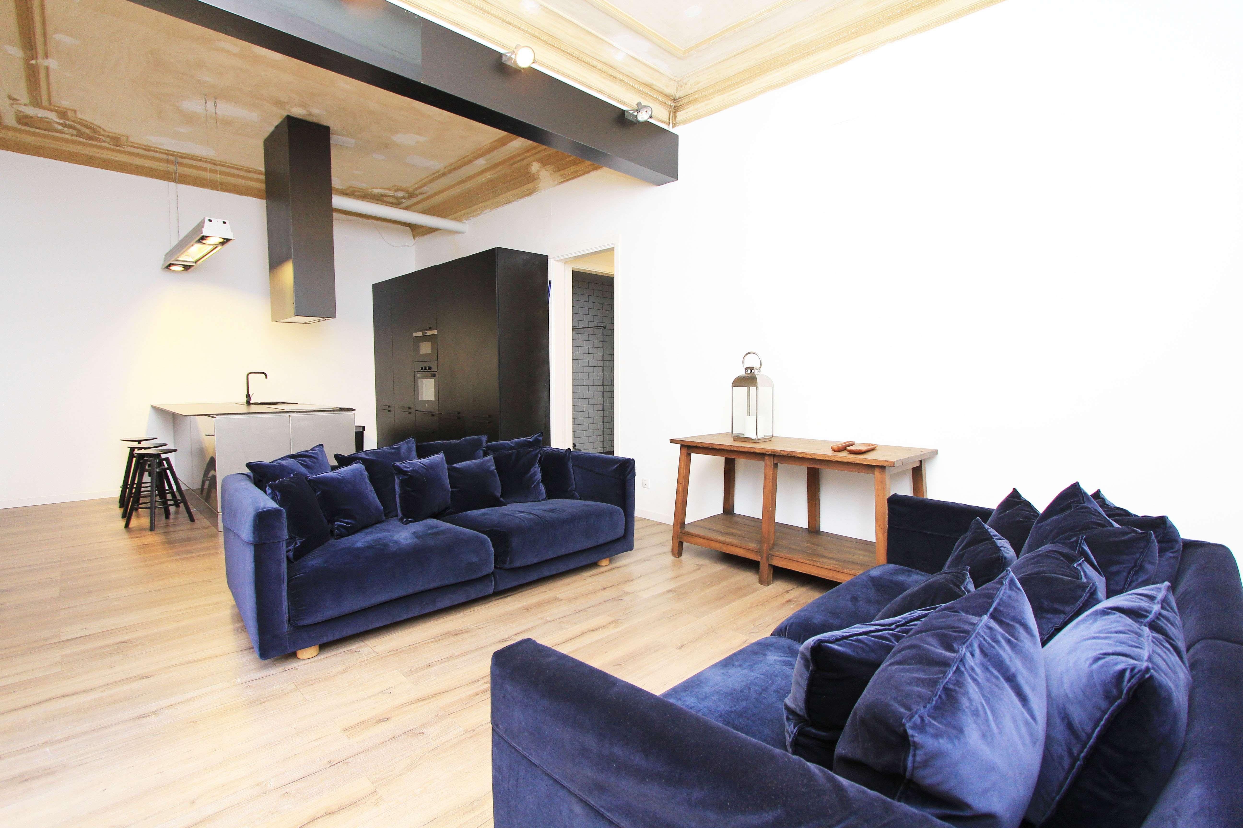 Apartamento con Terraza  en el Corazón de Barcelona