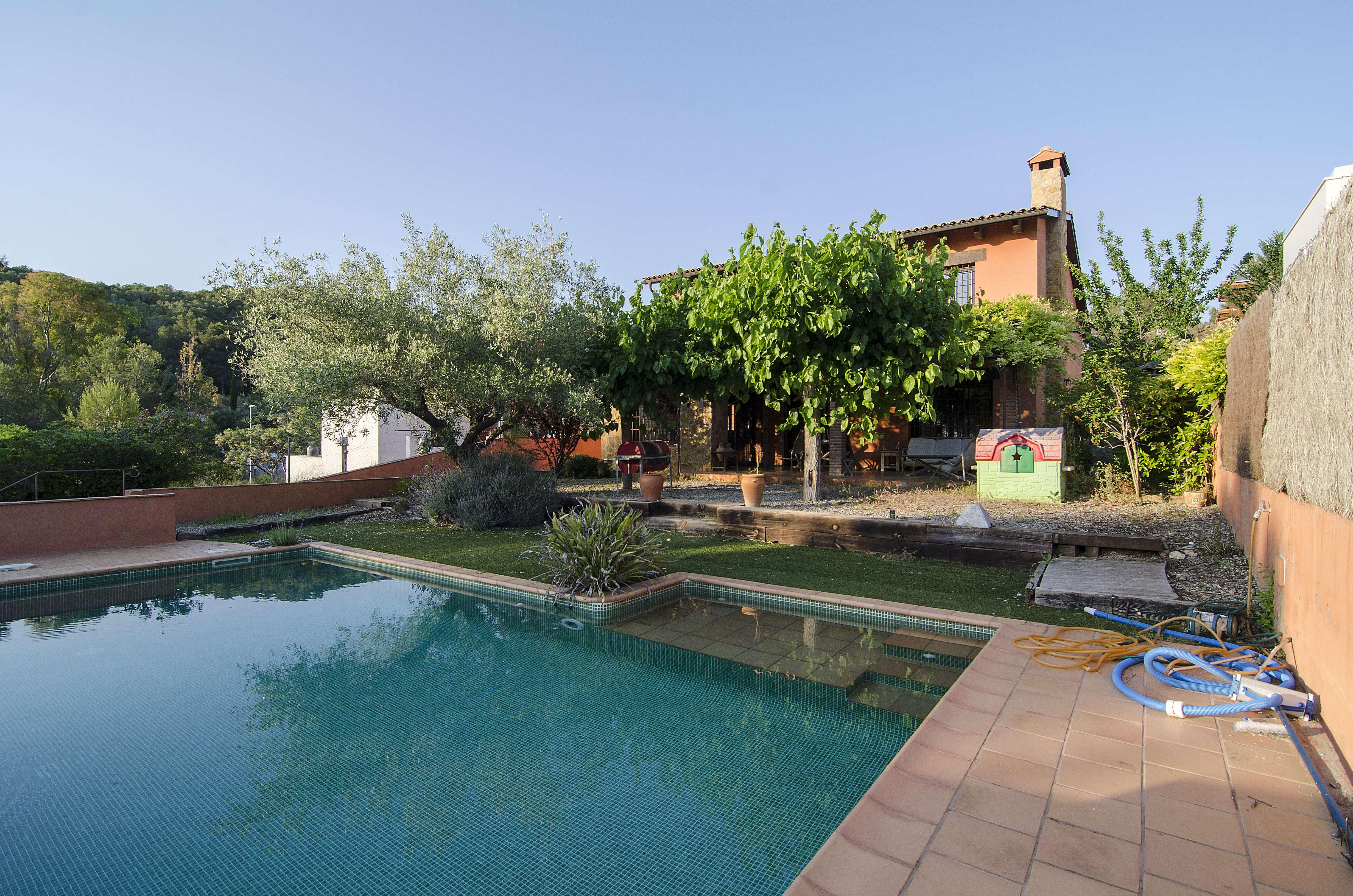Acogedora casa en Mas Alba, Sitges