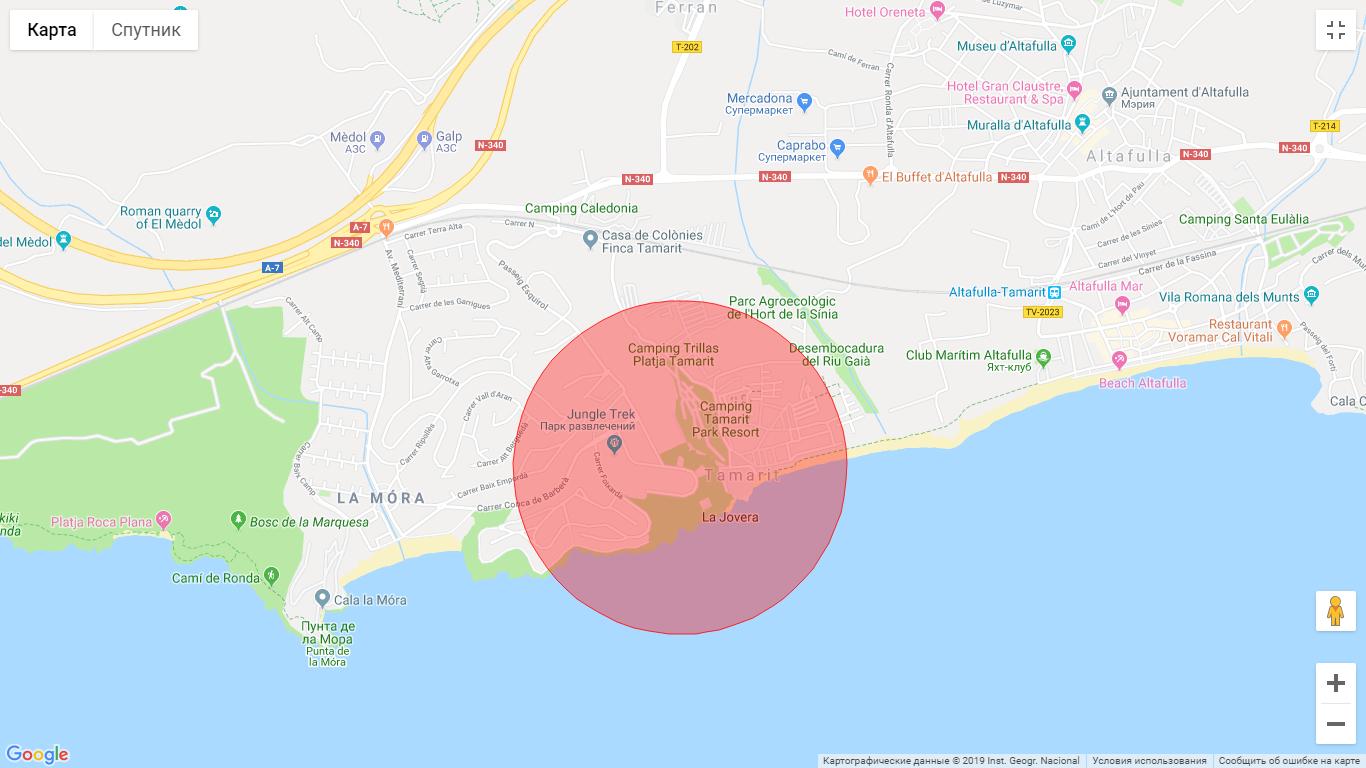El terreno en Tamarit (Tarragona)