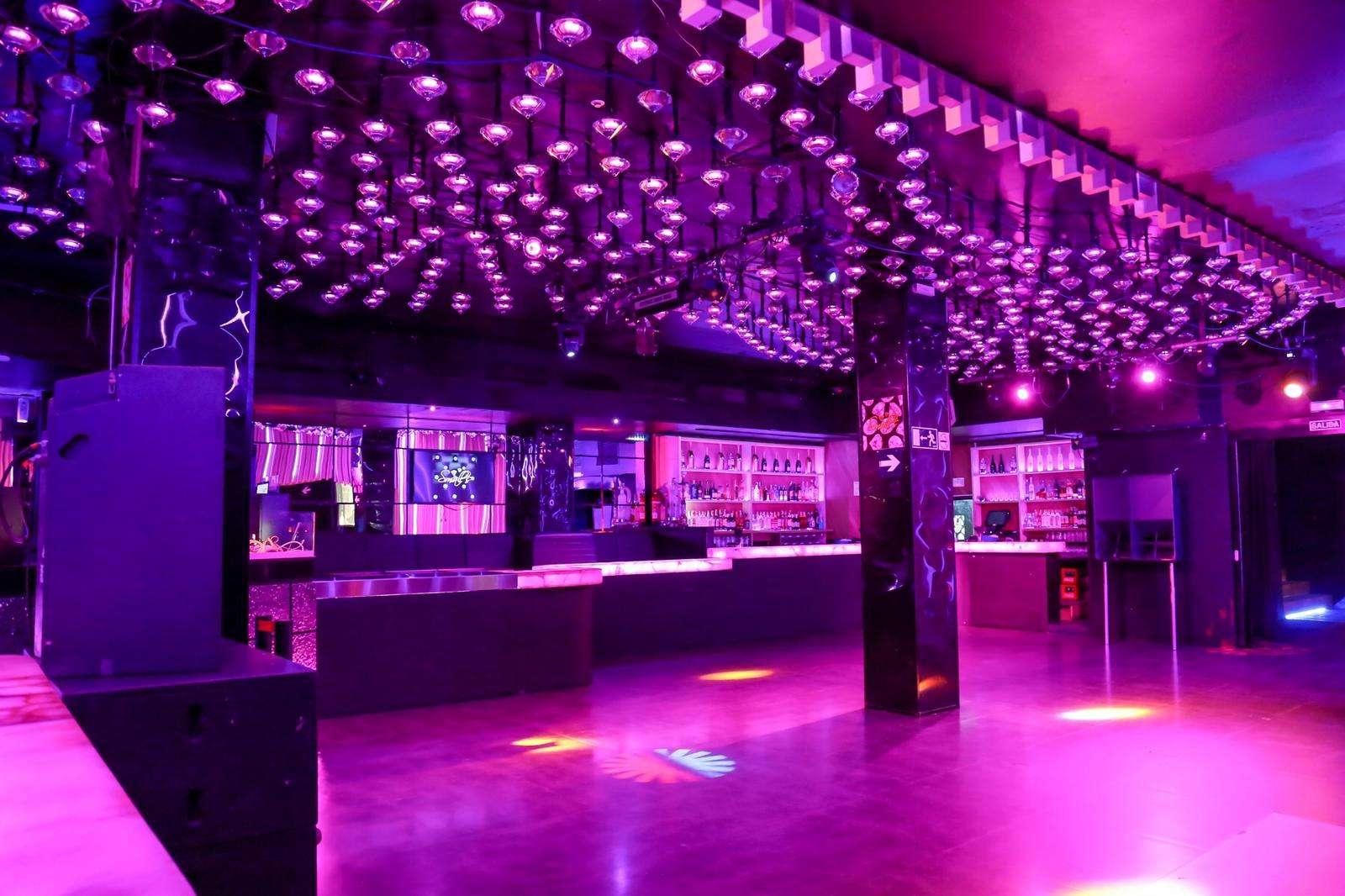 Discoteca en el centro de Barcelona